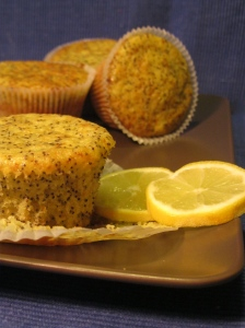 Muffin Lemon Poppy seed