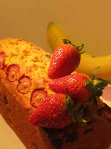 "Fragole e banana ""bread"""