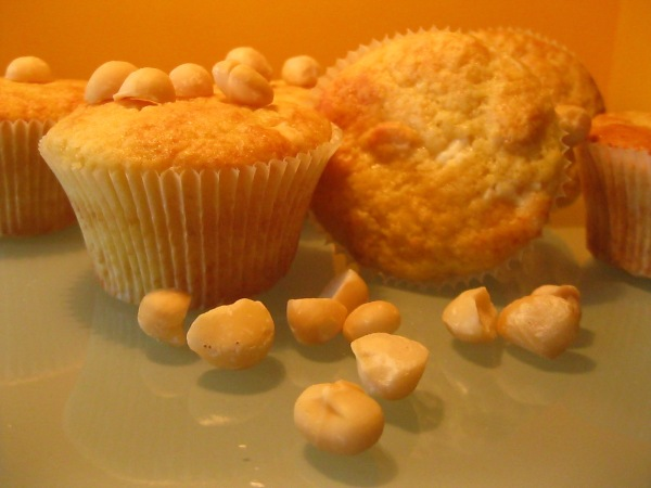 Macadamia nuts Muffins
