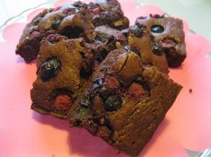 Brownies Frutti di bosco