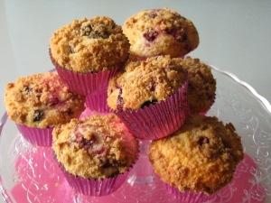 Muffins frutti di bosco