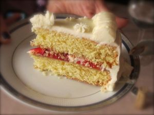 White Butter Cake 2