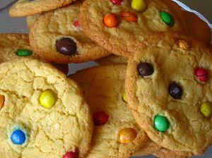 M&Ms Cookies Finale