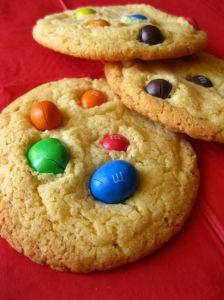 M&Ms Cookies