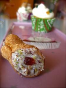 Cannolo siciliano Cupcake