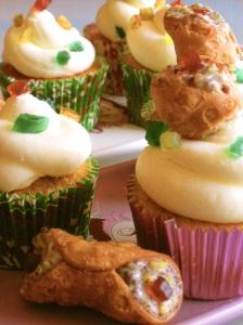 Cupcake Cannolo siciliano