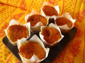 Sticky figs and orange muffins 2