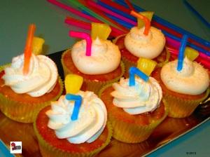 Cocco Pineapple Cupcake