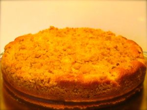 Pear Crumble Cake