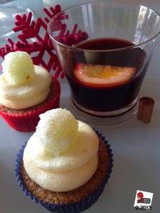 Vin Brulè Cupcake
