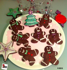 Chocolate Gingerbread Men
