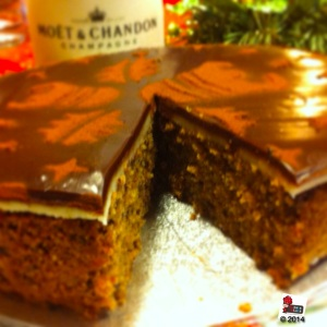 Xmas Chocolate and Hazelnut torte