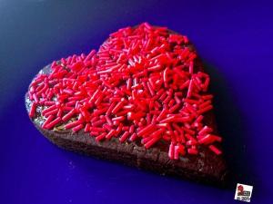 Valentine's day biscuit