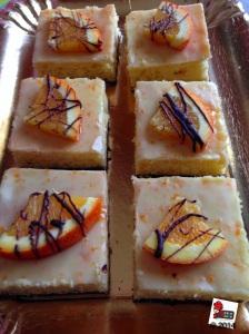 Polenta Orange squares