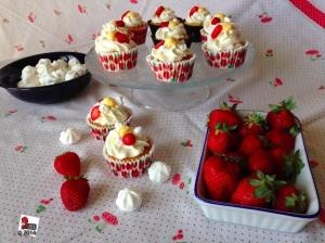 Eton Mess Cupcake