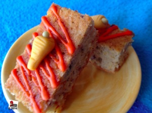 Blondie Carrot cake