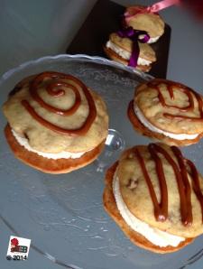 Banoffee whoopie pie