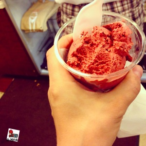 red velvet ice cream