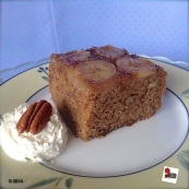 Banana upside-down cake. Ricetta qui: http://wp.me/p2x5x0-1aY