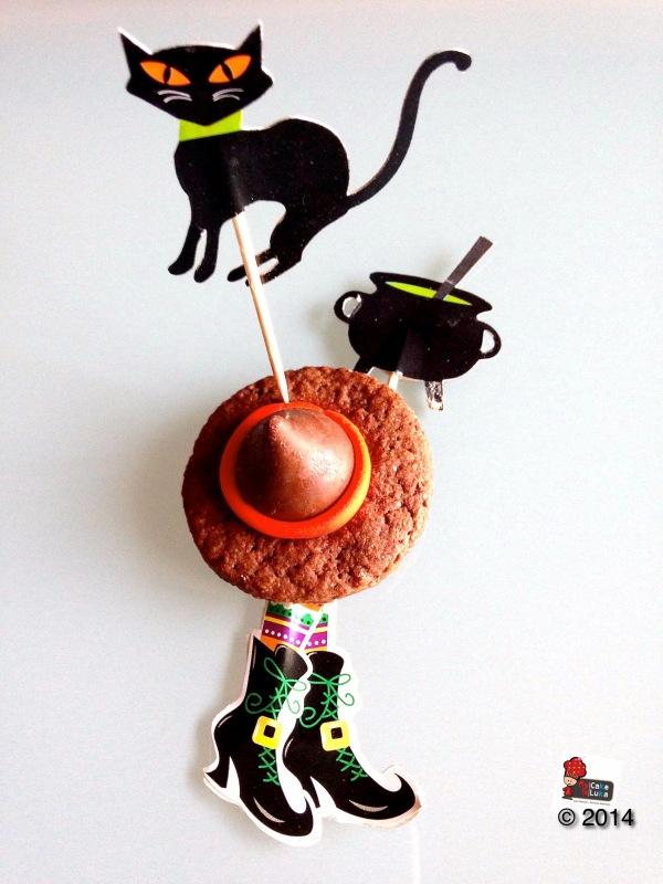Cappello di strega - Shortbread al cacao