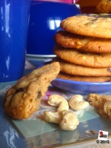 Cookies anacardi e cioccolato http://wp.me/p2x5x0-1kZ