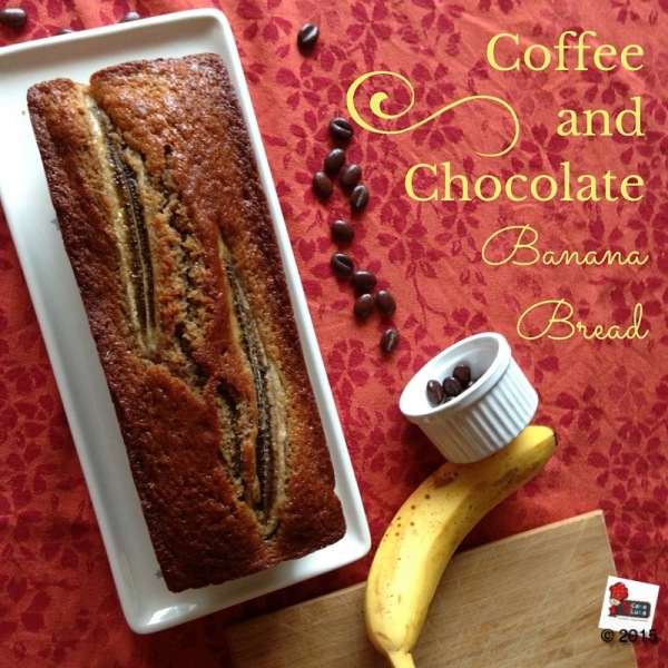 Coffe and Chocolate Banana Bread
