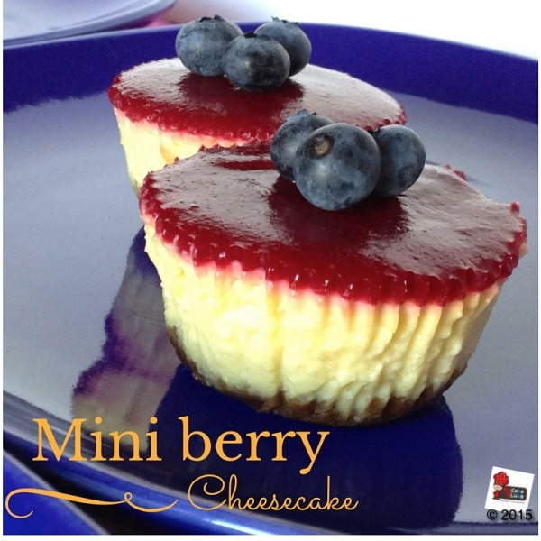 Mini Berry Cheescake