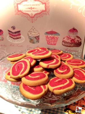 biscuits lamponi e vaniglia