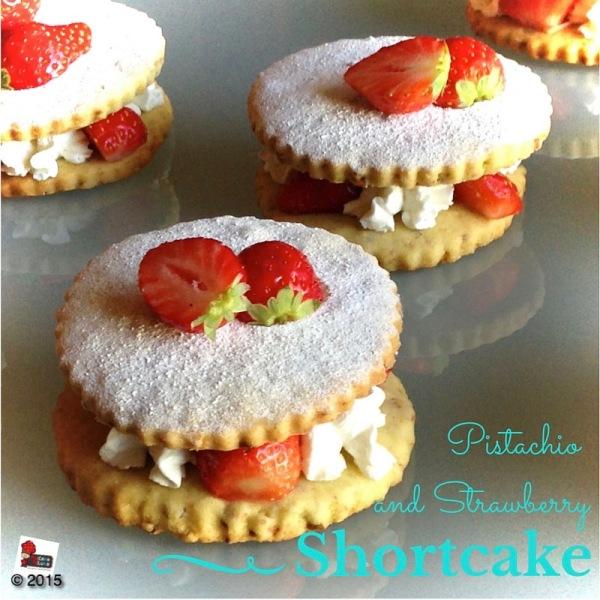 shortcake pistacchio e fragola
