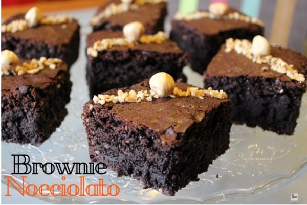 Brownie Nocciolato