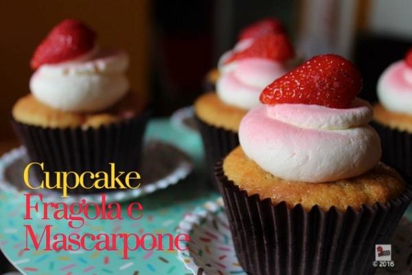 Cupcake fragole e mascarpone