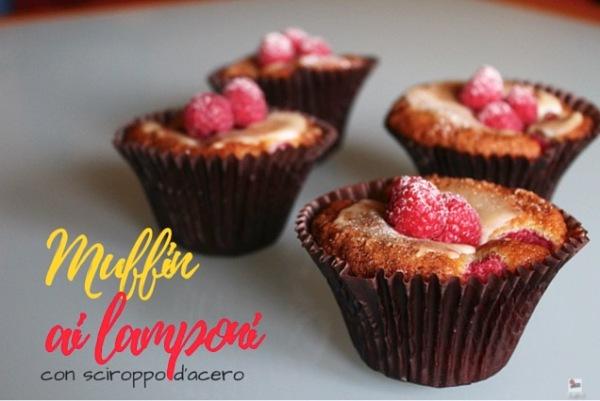 muffin lamponi