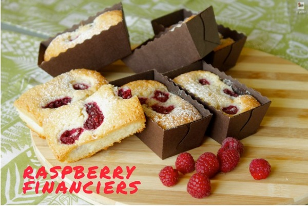 raspberry-financiers